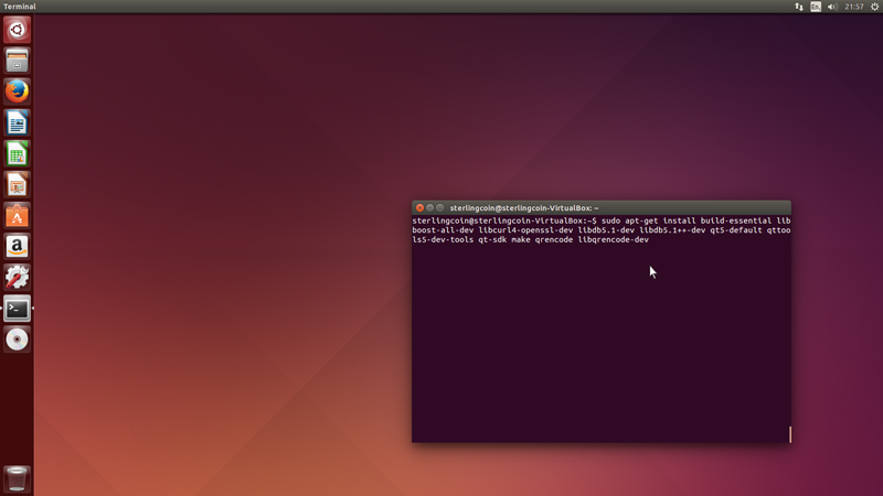 How to Install the Linux QT Wallet - Sterlingcoin